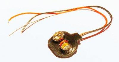 Batterieclip für 9V- Block, T-Form