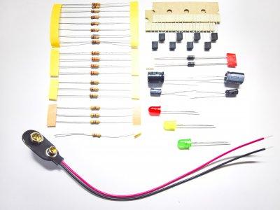 Bauteileset Mini-Ampel
