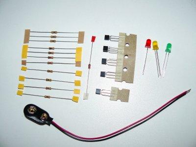 Bauteileset Batteriewächter