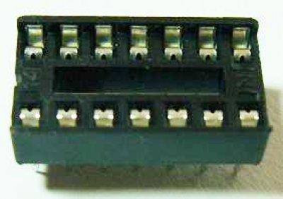 IC-Fassung 14 Pin, Standard