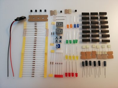 Bauteileset Digital-Elektronik