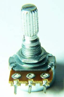 Potentiometer, Mono, Linear, 100 KOhm