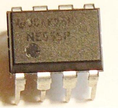 Einfacher Operationsverstärker µA741, dip