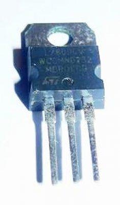Spannungsregler 7809, 9V, 1A