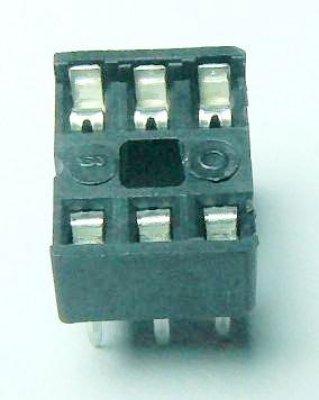 IC-Fassung 6 Pin, Standard