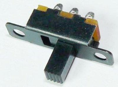Miniatur-Schiebeschalter, 1xUm