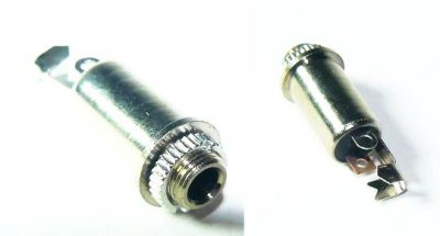 Stereo-Klinkenbuchse 3,5mm, Frontmontage