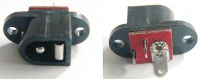 Hohlstecker, 2,1mm Stift, Frontmontage