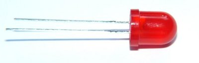 Standard-Leuchtdiode 8mm, rot