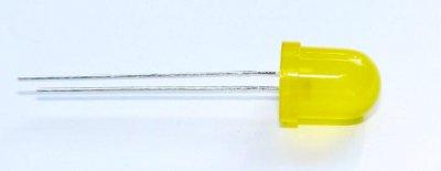 Standard-Leuchtdiode 8mm, gelb