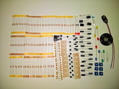 Bauteileset Analog-Elektronik