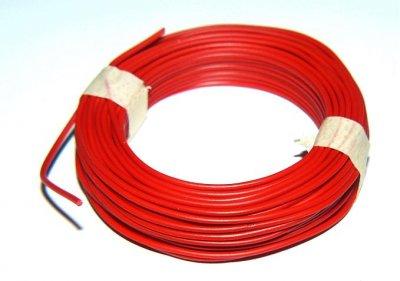 Isolierter Draht, 0,5mm, Rot, 10m-Ring