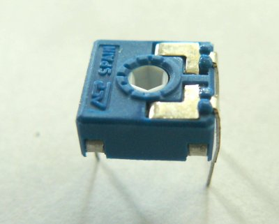 Trimmer100 kOhm, ACP CA9MV, liegend