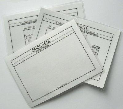 Arbeitskarte für SA-52 / SC-52