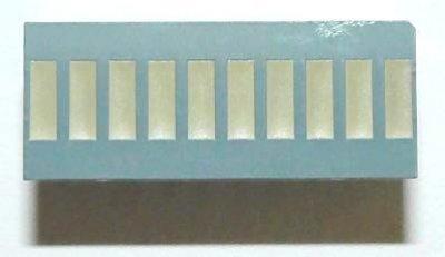 Balkenanzeige 10xRot/Grün
